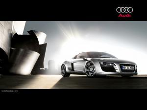 Audi R8 supercar