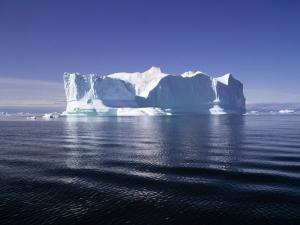 Iceberg in the North Pole