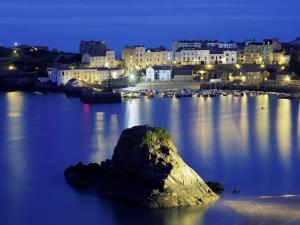 Seaport in Tenby (Wales, UK)
