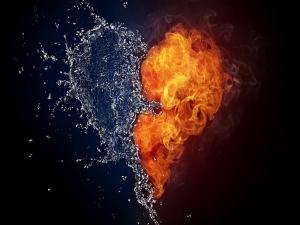 Heart of water and fire
