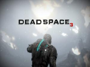 Isaac Clarke in a snowstorm (Dead Space 3)