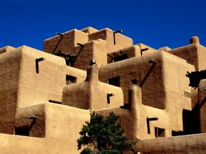 Buildings in the town of Taos, New Mexico
