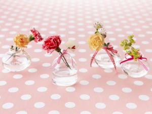Small flower vases