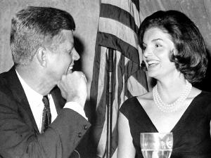 John and Jackie Kennedy