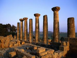 Stone columns with much history