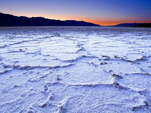 Salt mines of Badwater, Death Valley, California