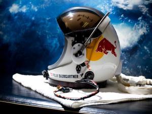 Helmet of Felix Baumgartner for the Red Bull Stratos mission