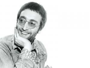 John Lennon smiling