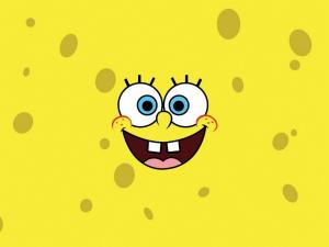 SpongeBob smiling