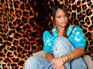 The singer Rihanna