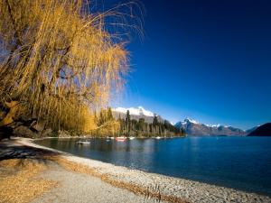 Lake Wakatipu, Queenstown (New Zealand)