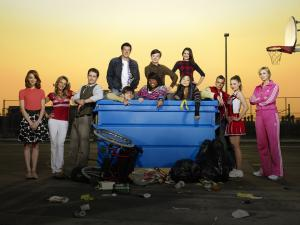 "Protagonists of the television series ""Glee"""