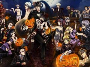 Manga in Halloween