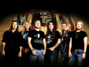 "The heavy metal british band ""Iron Maiden"""