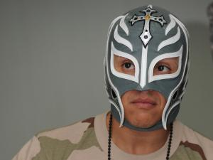 The professional wrestler Rey Mysterio