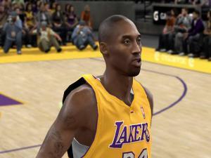 Kobe Bryant in a videogame