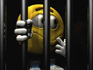 M&M in jail