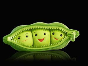 Sympathetic peas in his pod