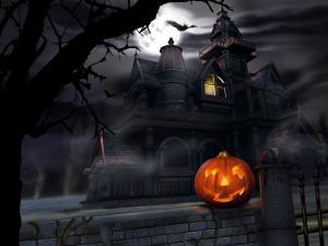 Tenebrous house of Halloween