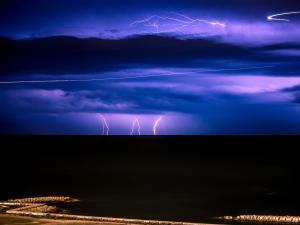 Lightning Storm at Barcelona