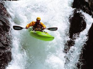 Extreme canoeing
