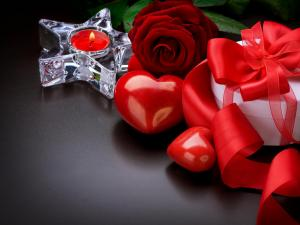 A romantic gift