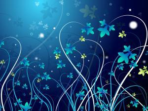 Little virtual flowers