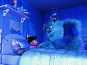 "Scene of ""Monsters, Inc."""