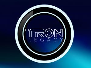 """Logo of the film """"Tron: Legacy"""""""