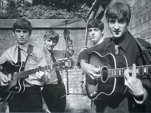 The Beatles very young