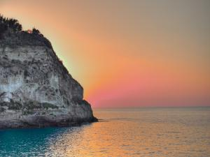 Sunset at Tropea (Calabria, Italy)