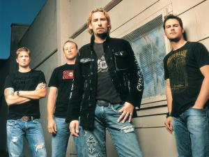 The Canadian hard rock band Nickelback