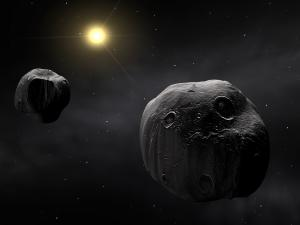 Meteorites in outer space