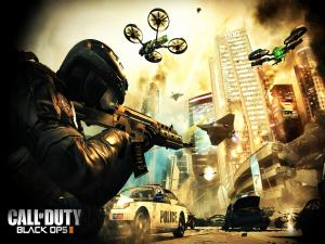 Futuristic war in Call of Duty: Black Ops 2