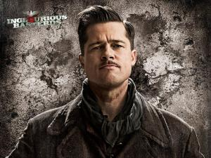 "Brad Pitt in ""Inglourious Basterds"", directed by Quentin Tarantino"
