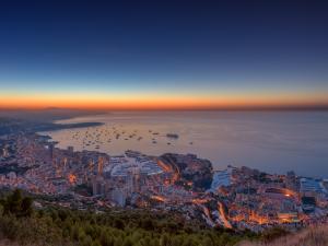 Dawning in Monaco