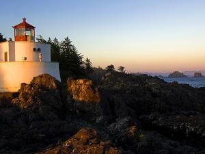 A lighthouse hidden