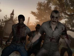 Furious zombies