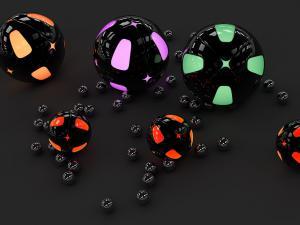 Shining spheres