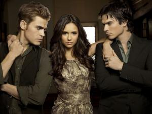 "Main characters of ""The Vampire Diaries"""