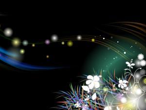 Virtual floral motifs
