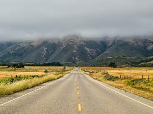 Road to Big Sur, California