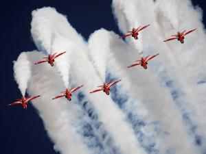 The Red Arrows, Royal Air Force Aerobatic Team (United Kingdom)