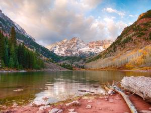 Maroon Lake, near Aspen, Colorado