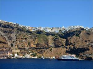 Port of Santorini (Greek Island)