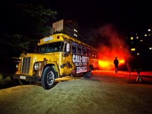 "Bus of ""Call of Duty Black Ops II Zombies"""