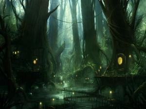 The magical swamp