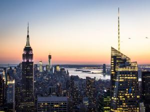 """Night view of New York (from the """"Top of the Rock"""")"""