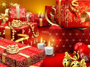 Many gifts ready for Christmas