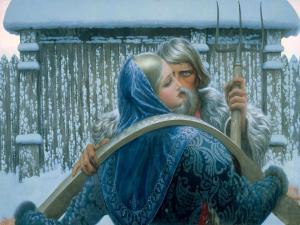 Painting by Konstantin Vasilyev